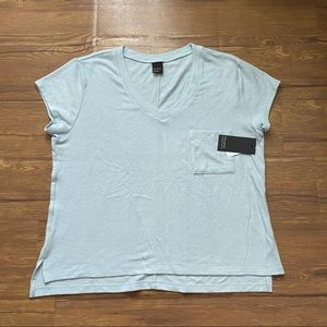 Nordstrom Free Press Top Size Large